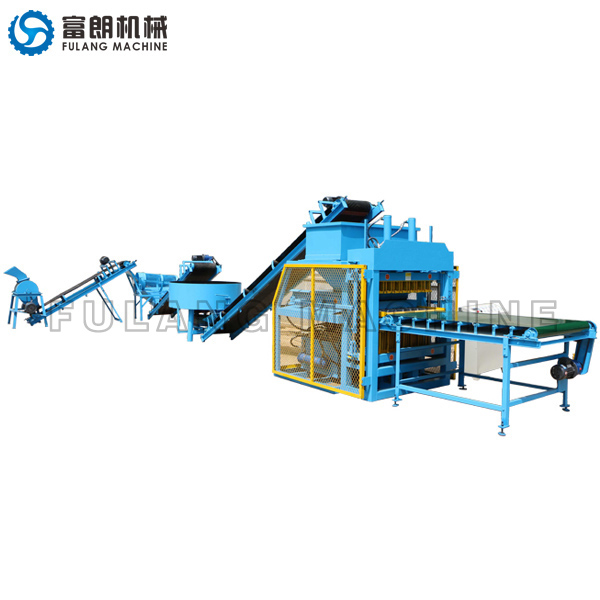 FL7-10 interlocking bricks machine