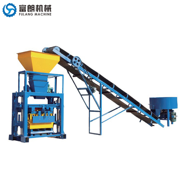 QTF40-1 concrete hollow block machine