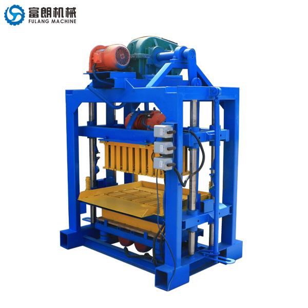 QTF40-2C cement hollow block machine