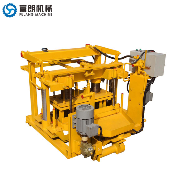 QTF40-3A egg laying block making machine