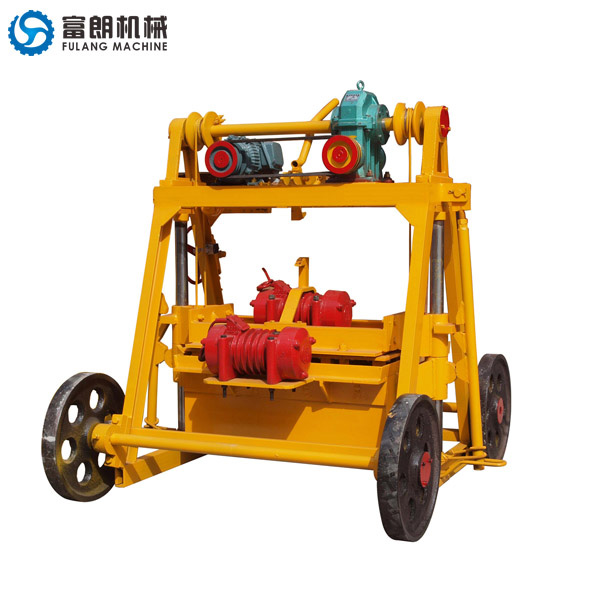 QTF40-3B concrete hollow block machine