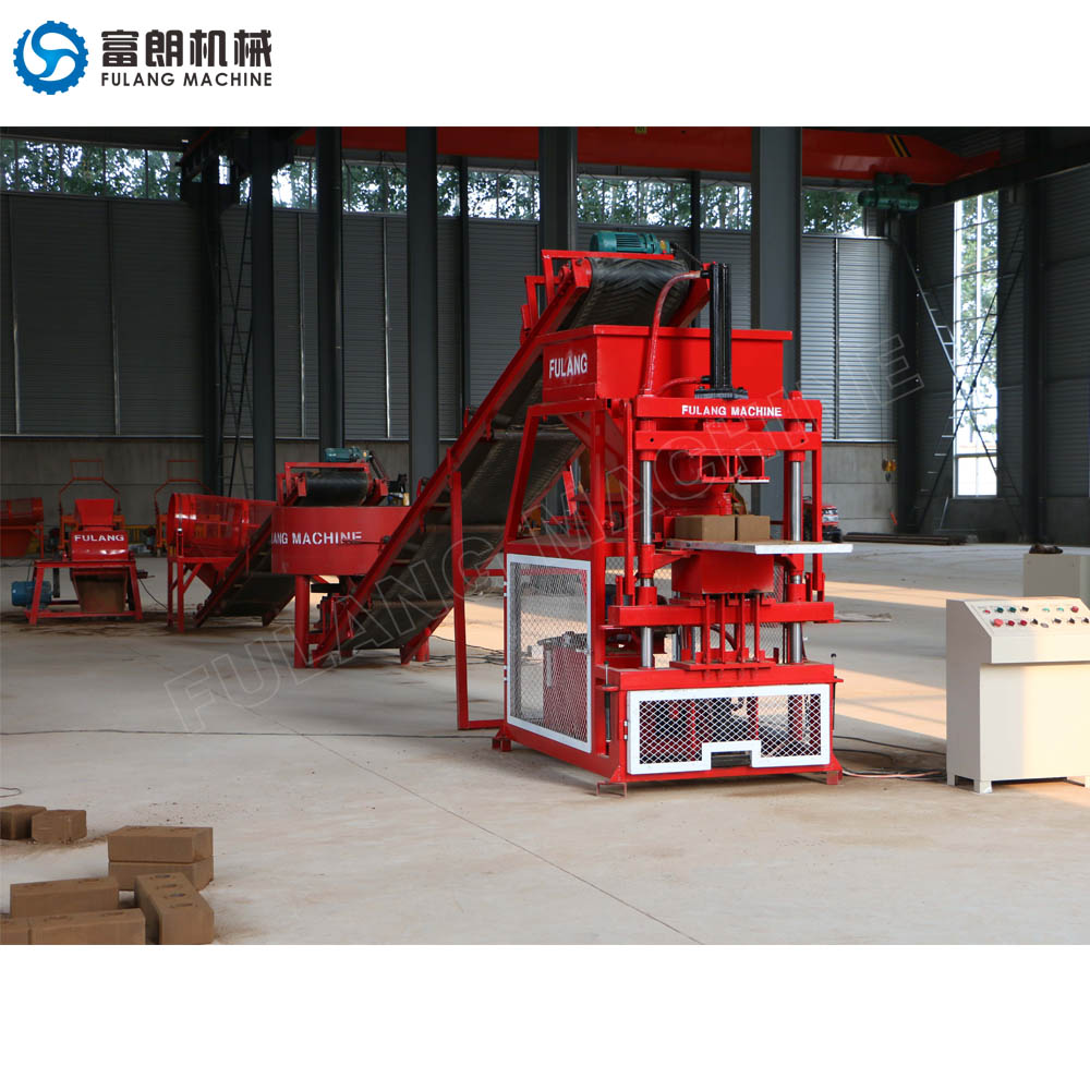 FL2-10 clay brick manufacturing machine price