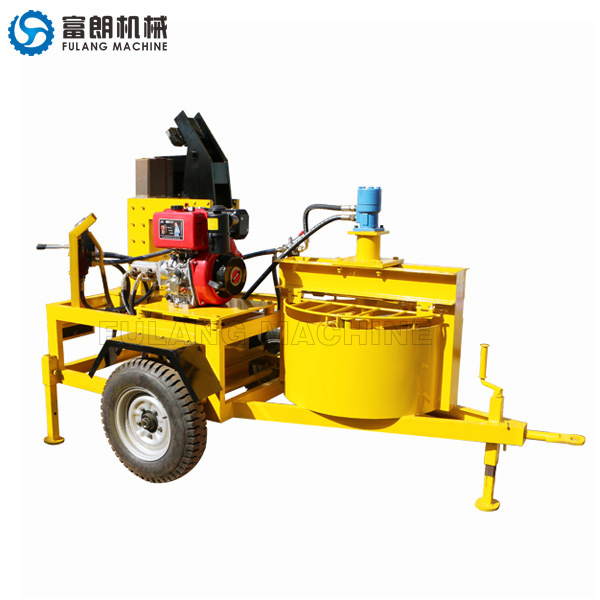 M7MI soil block brick making machine