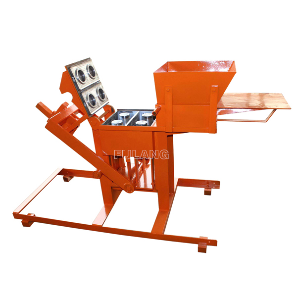 FL2-40 earth paver block manufacturer machine