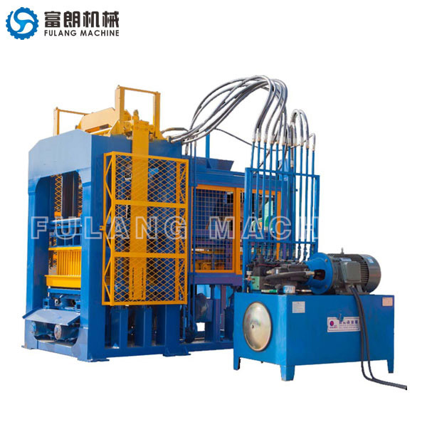 QTF8-15 fly ash hollow block bricks machine