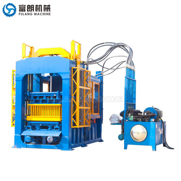 QTF6-15 automatic concrete block making machine