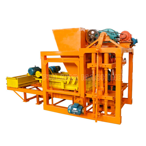 QTF4-25A fly ash hollow block machine