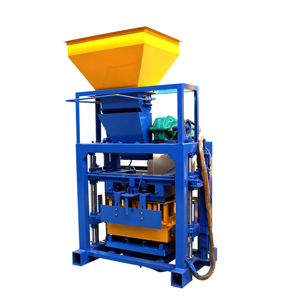 QTF40-1 cement brick making machine