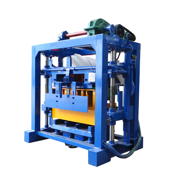 QTF40-2 Manual concrete block making machine