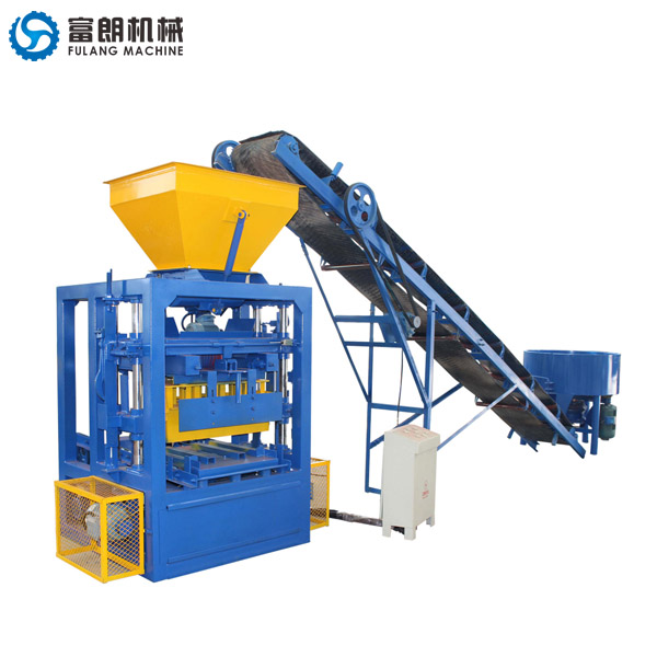 QTF4-24 concrete hollow block making machine
