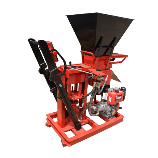 FL1-25 compressed earth brick machine