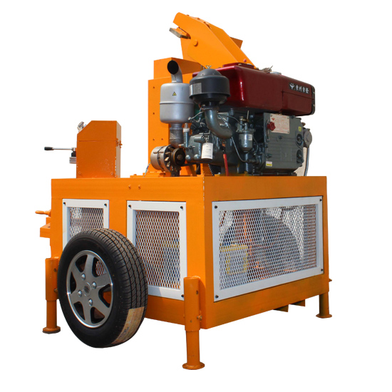 FL1-20 mobile compressed earth brick machine