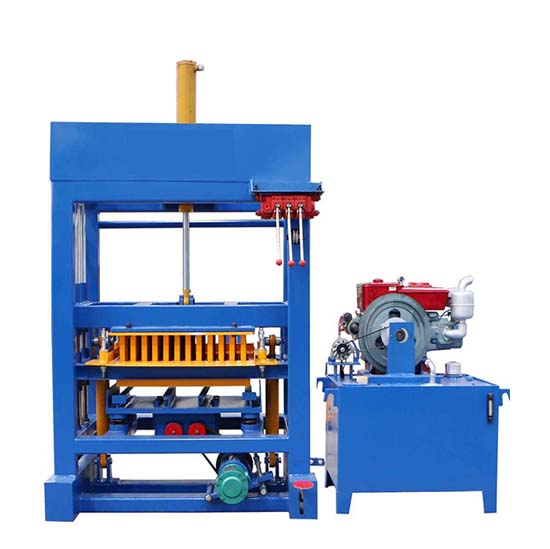 QTF4-28 concrete brick machine