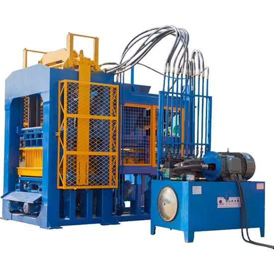 QTF8-15 concrete brick machine