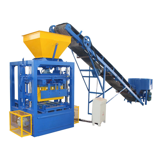 QTF4-24 cement brick making machine