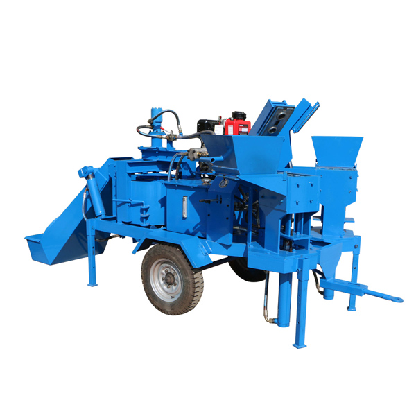 M7MI TWIN interlocking brick making machine