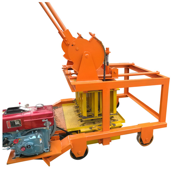 QTF40-3D mobile block making machine