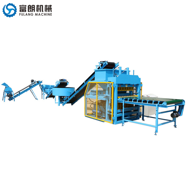 FL7-10 interlocking brick making machine