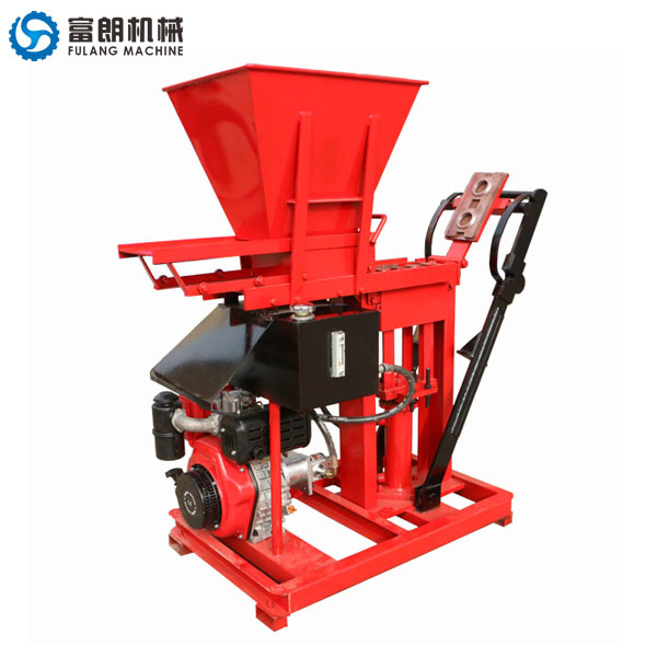 FL1-25 diesel soil brick machine