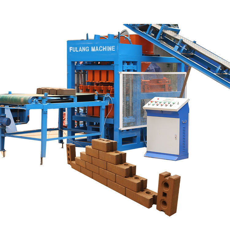 FL4-10 clay brick making machine