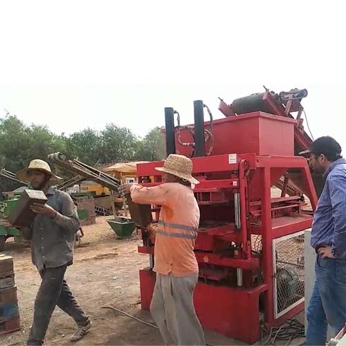 Feedback from our Morocco customers about this bricks machine