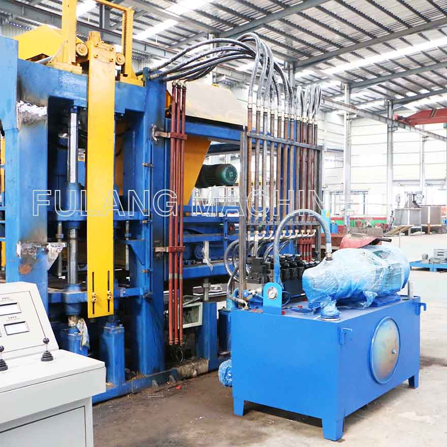 How to solve fever phenomenon in hydraulic system for brick making machine