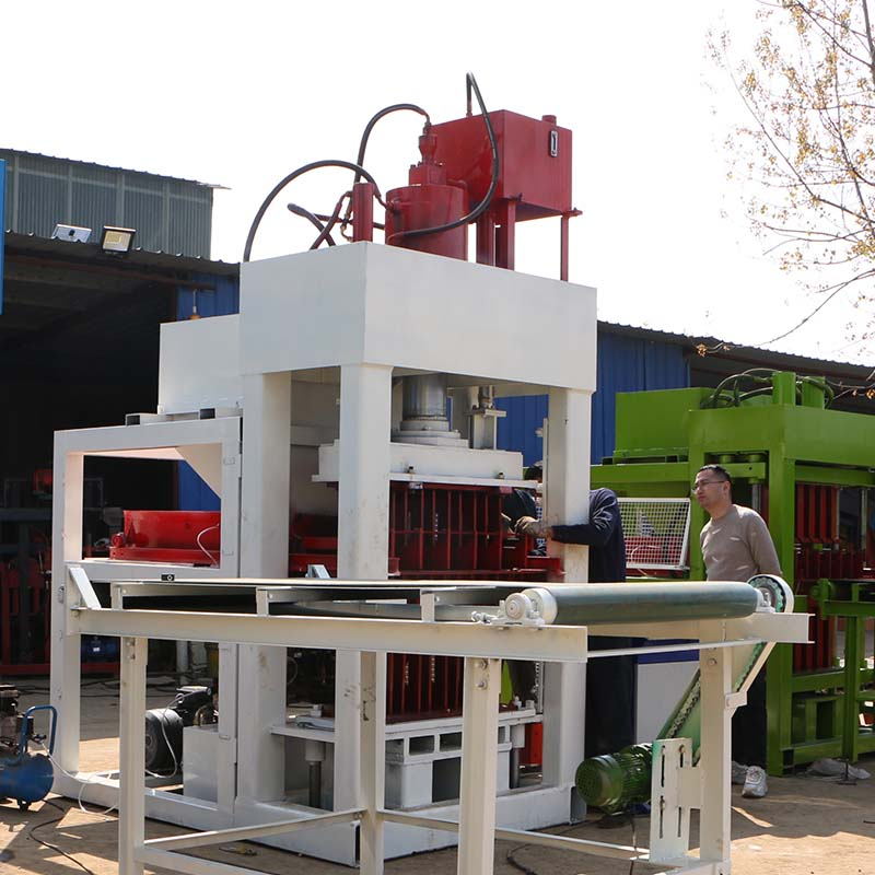 FL5-10 automatic clay brick machine with 200 tons pressure ready to be  shipped to Somalia