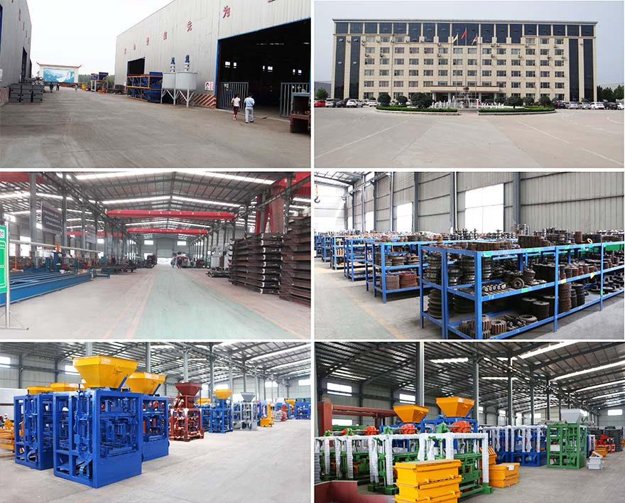 interlocking brick making machine factory