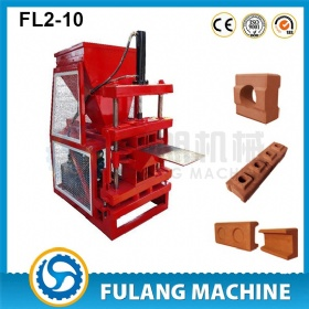 FL2-10 Compressed earth block machine