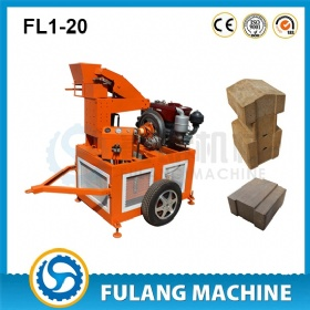 Mud brick making machine